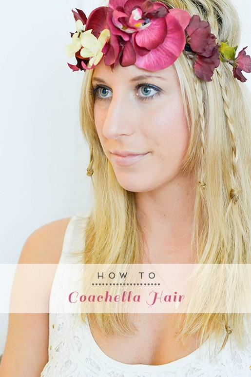 Hairstyle for Coachella Music Festival 2014