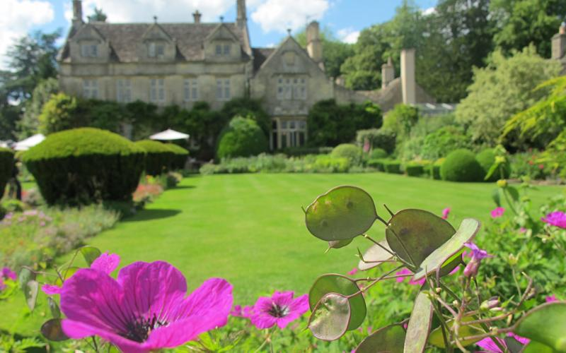 With its golden stone, gables and mullion windows, Barnsley House is a dreamily romantic place to stay - Mark Lord