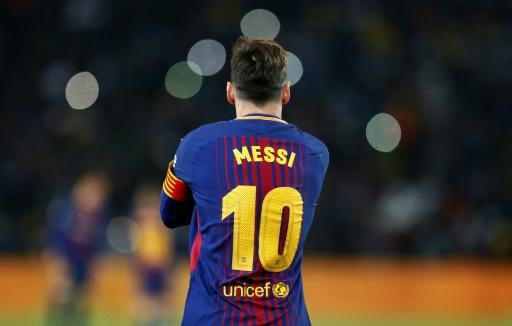 Lionel Messi was rested last week as Barcelona's hopes of an unbeaten league season came to a dramatic end at Levante