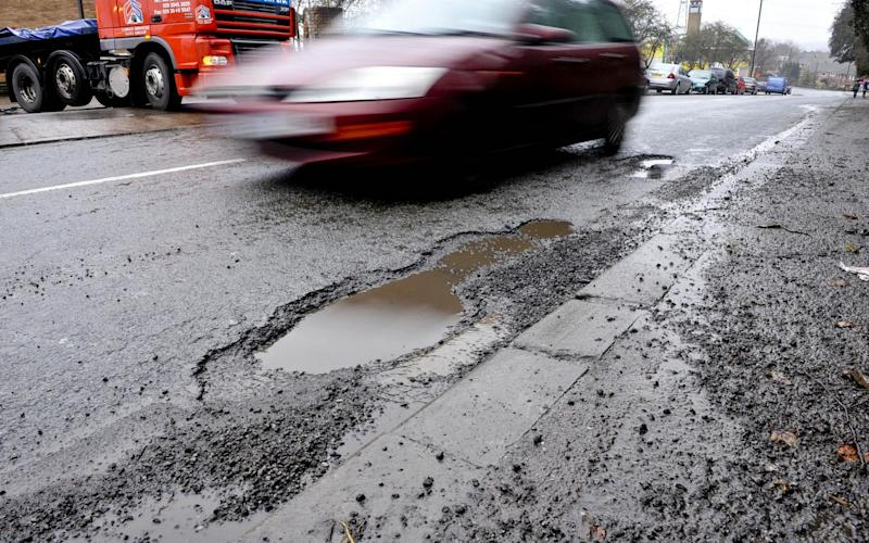 Nice said potholes and cracked, narrow pavements were putting off cyclists and joggers - PA