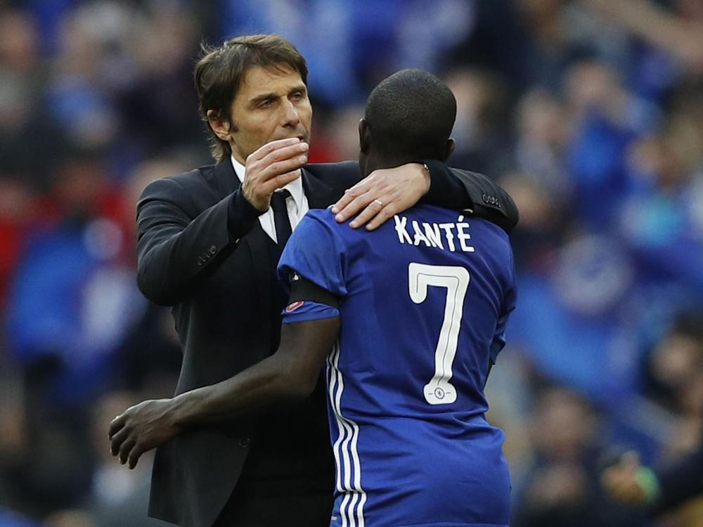 Antonio Conte has N'Golo Kante to thank for Chelsea's resurrection this season (Getty)