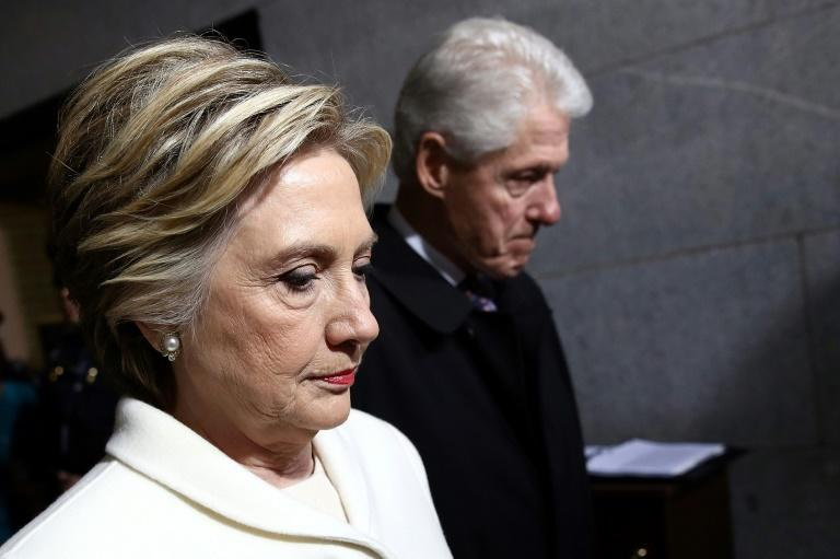 Bill and Hillary Clinton, seen here in 2017, have opened up in a new documentary about the former president's affair with Monica Lewinsky
