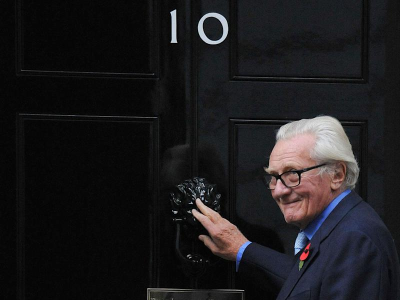 Conservative former Cabinet minister Lord Heseltine, who has been sacked as a government adviser: PA