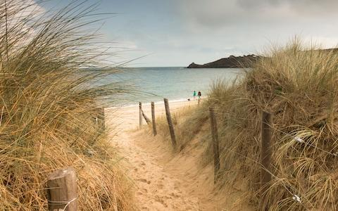 <span>Great beaches are everywhere you look in Brittany – some bustle with life and energy; others lie tucked away at the end of unpromising little rural lanes</span> <span>Credit: getty </span>