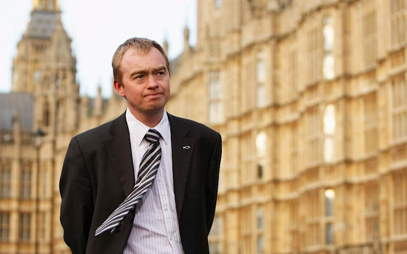 Tim Farron  - Credit: Daniel Berehulak/Getty Images