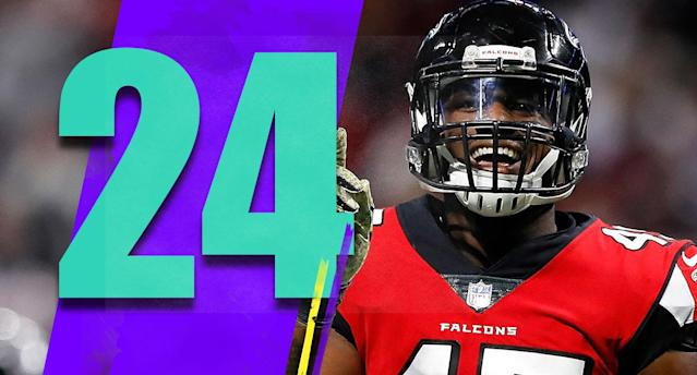 <p>If the Falcons can win the next two games against Washington and Cleveland, they could then activate Pro Bowl linebacker Deion Jones off injured reserve for their Nov. 18 game against Dallas. It's not too late for the Falcons to make a run. (Deion Jones) </p>