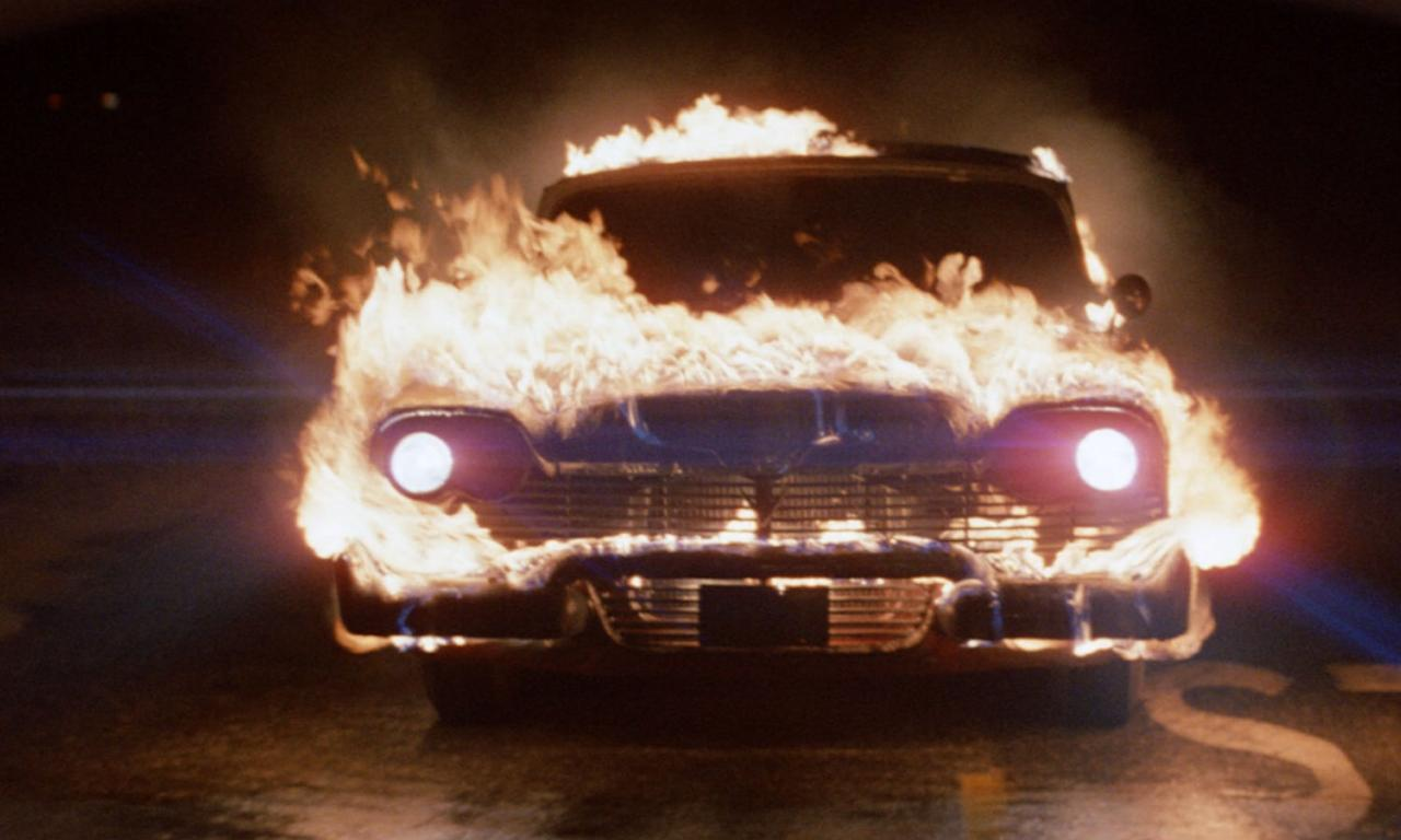 <p>John Carpenter's Stephen King adaptation about a murderously demonic car may have been a freaky film upon release, and to watch in your youth, but it hasn't quite stood the horror test of time. Still a cult classic and a hilarious performance by Keith Gordon as Arnie. CHICKEN SHIT. </p>
