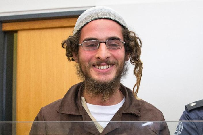 Meir Ettinger has been placed in administrative detention for six months with the possibility of extension (AFP Photo/Jack Guez)