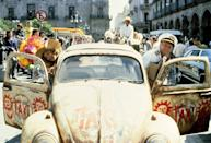 <p>Herbie returned for a third go-round in 1977 entitled <em>Herbie Goes to Monte Carlo</em>, and the original film franchise came to a conclusion with this adventure in which Herbie heads to South America for some car-azy (sorry) hijinks. Herbie would go on to get a short-lived TV show in 1982, a TV movie remake in 1997, and a theatrical reboot in 2005 starring national treasure Lindsay Lohan. </p>
