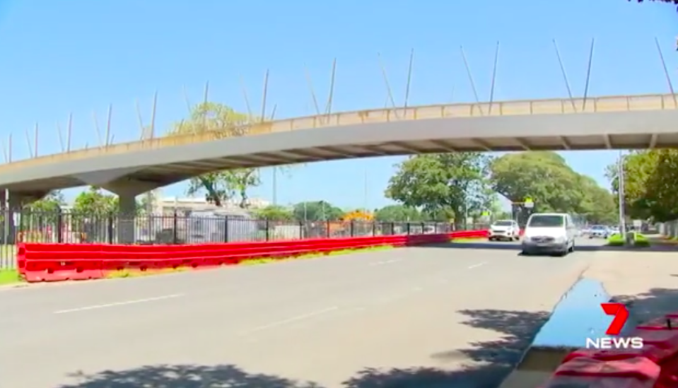 Cameras at Moore Park on Anzac Parade will be used from Monday. Source: 7News