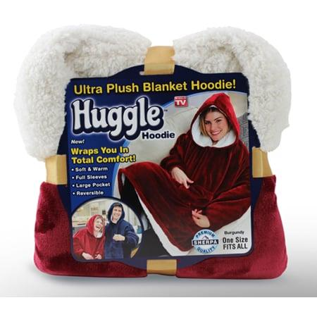 """<p>Snuggle up in this <a href=""""https://www.popsugar.com/buy/Huggle-Hoodie-Ultra-Plush-Blanket-Hoodie-380671?p_name=Huggle%20Hoodie%20Ultra%20Plush%20Blanket%20Hoodie&retailer=walmart.com&pid=380671&price=30&evar1=savvy%3Aus&evar9=45317349&evar98=https%3A%2F%2Fwww.popsugar.com%2Fsmart-living%2Fphoto-gallery%2F45317349%2Fimage%2F45602692%2FHuggle-Hoodie-Ultra-Plush-Blanket-Hoodie&list1=shopping%2Cgifts%2Choliday%2Chumor%2Cgift%20guide%2Cwalmart%2Cwhite%20elephant%20gifts&prop13=mobile&pdata=1"""" rel=""""nofollow"""" data-shoppable-link=""""1"""" target=""""_blank"""" class=""""ga-track"""" data-ga-category=""""Related"""" data-ga-label=""""https://www.walmart.com/ip/Huggle-Hoodie-Ultra-Plush-Blanket-Hoodie-Blue-As-Seen-on-TV/920624632"""" data-ga-action=""""In-Line Links"""">Huggle Hoodie Ultra Plush Blanket Hoodie</a> ($30).</p>"""