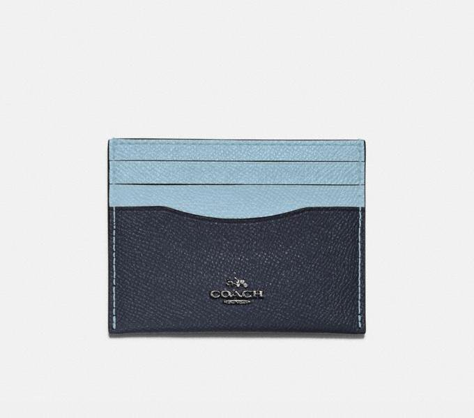 Card Case In Colorblock. Image via Coach.