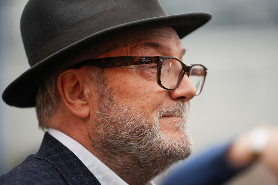 Galloway says the council failed to return the posters concerned to him (Getty Images)