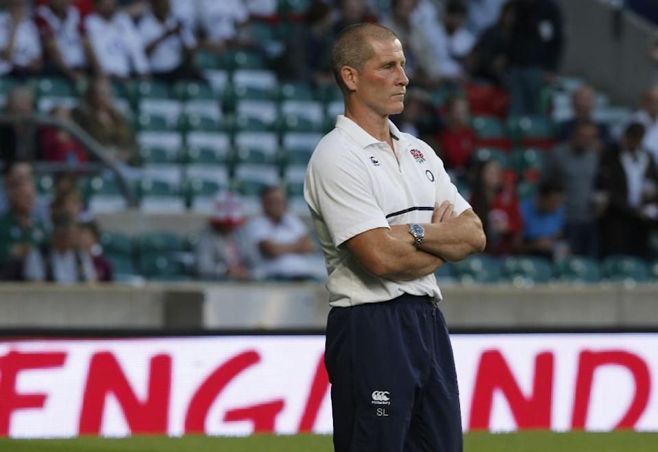 England's coach Stuart Lancaster believes his side are well positioned to enter a home World Cup and the opening pool game with Fiji on September 18 following the win over the Irish (AFP Photo/Adrian Dennis, Adrian Dennis)