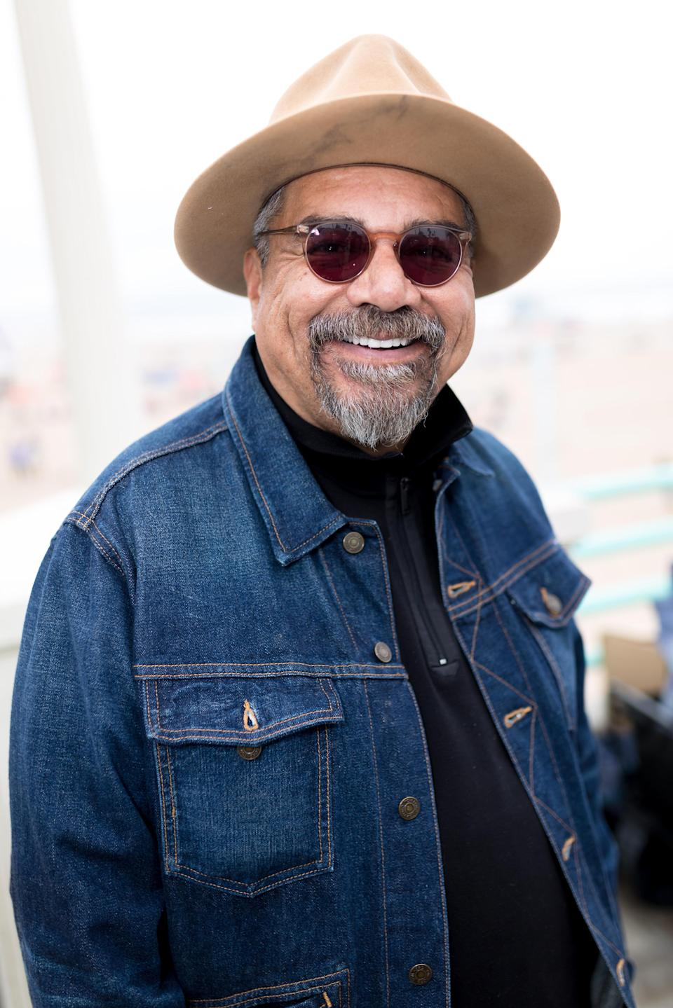 Comedian George Lopez is selling Melania Trump-inspired fashion. (Photo: Getty Images)
