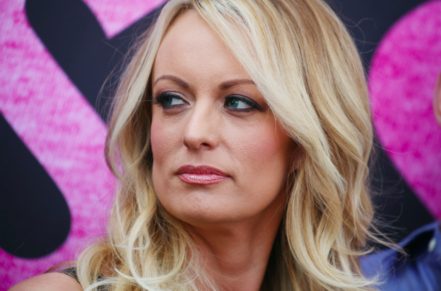 <em>Porn star Stormy Daniels alleges to have had an affair with the President (Rex)</em>