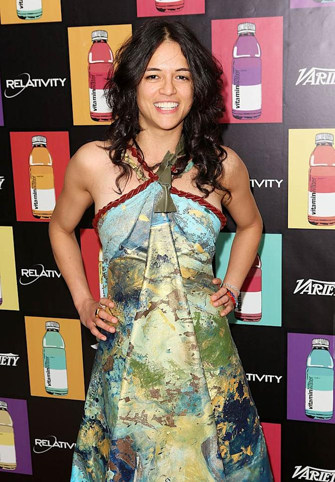 """Michelle Rodriguez (""""Lost,"""" """"Avatar"""") turns 33 Todd Oren/<a href=""""http://www.gettyimages.com/"""" target=""""new"""">GettyImages.com</a> - May 15, 2011"""