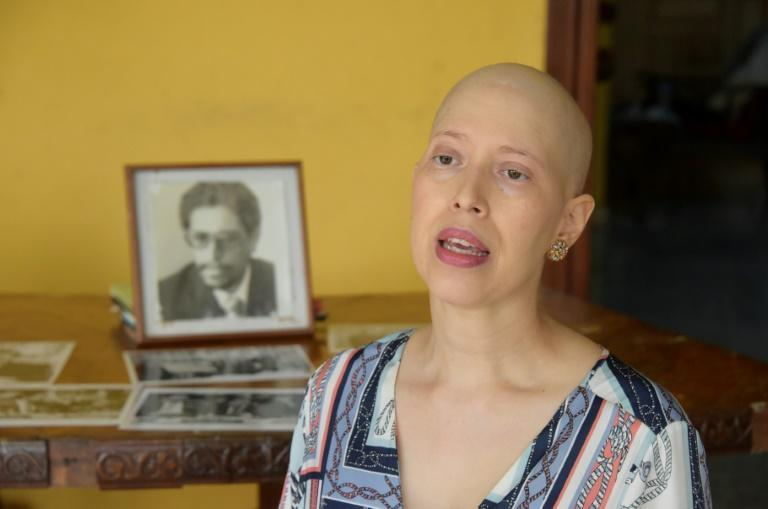 Cristian Tinoco, who is suffering from cancer, says her father, an former Sandinista guerrilla, has been kidnapped by the government of President Daniel Ortega, a former brother-in-arms