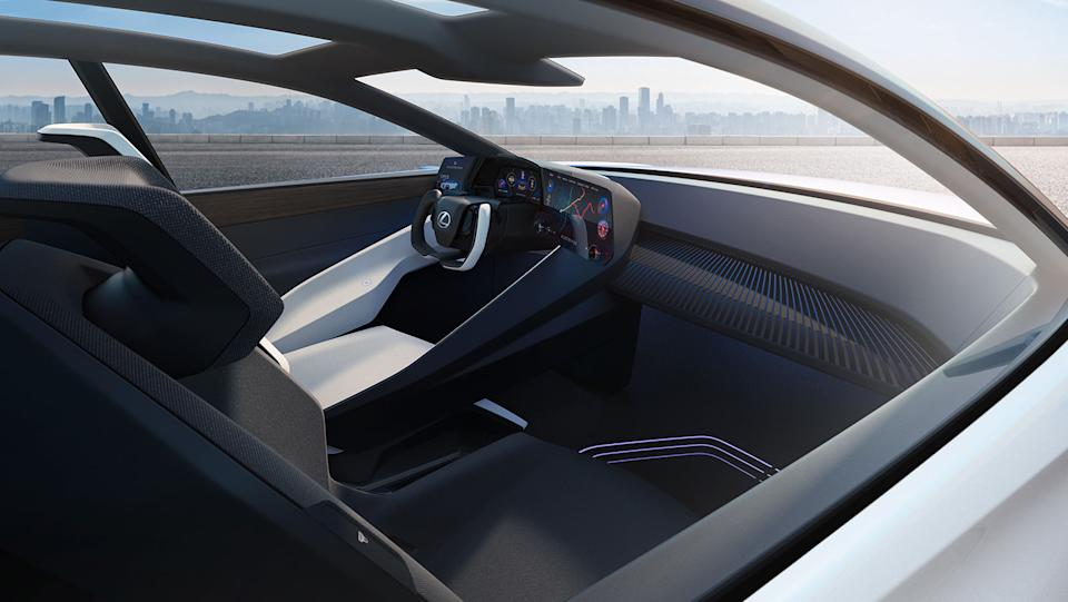 Lexus LF-Z Electrified concept car interior