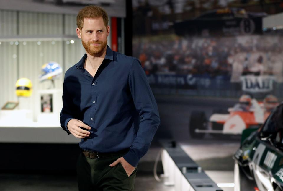 Prince Harry has been hired as chief impact officer at BetterUp. (Photo by Peter Nicholls-WPA Pool/Getty Images)