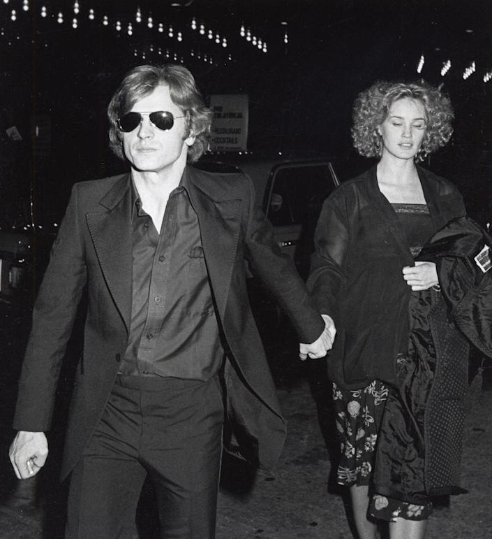 <p>You may only know Mikhail Baryshnikov as Carrie's boyfriend Aleksandr on <em>Sex and the City</em>, but in the early days of his career he was a renowned ballet dancer. He and Oscar-winning actress Jessica Lange were together from 1976 and 1982, and the couple had a child together in 1981. </p>