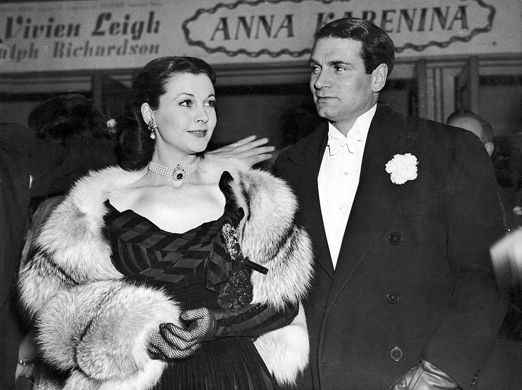 "<p>Across the pond was the <a href=""https://www.harpersbazaar.com/celebrity/latest/a12809242/vivien-leigh-laurence-olivier-relationship/"" target=""_blank"">tragic love story</a> between these two actors. They met in 1936, but Laurence was married. Vivien was reportedly certain this was the love of her life, and they started their affair the following year. They eventually married in 1940 and were at the height of their ""couple goals"" status, but health problems and their overall rocky relationship led to their downfall around 1958. </p>"