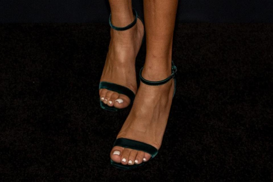 A closer view of Bia's heels. - Credit: Courtesy of Amazon