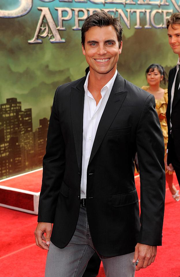 """<a href=""""http://movies.yahoo.com/movie/contributor/1809139108"""">Colin Egglesfield</a> at the New York City premiere of <a href=""""http://movies.yahoo.com/movie/1810073953/info"""">The Sorcerer's Apprentice</a> - 07/06/2010"""
