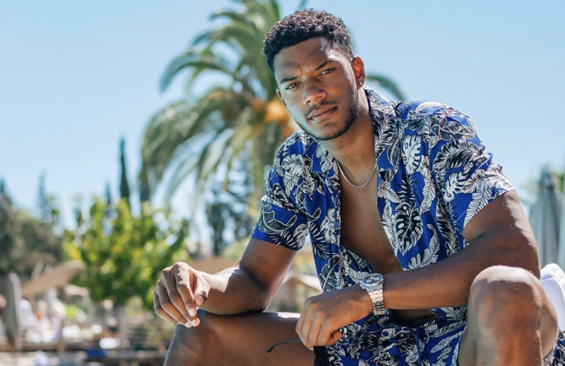"Theo Campbell, of MTV's ""The Challenge"" fame, has been blinded in one eye after a ""really unfortunate accident"" involving a champagne cork. (Photo: Theo Campbell via Instagram)"