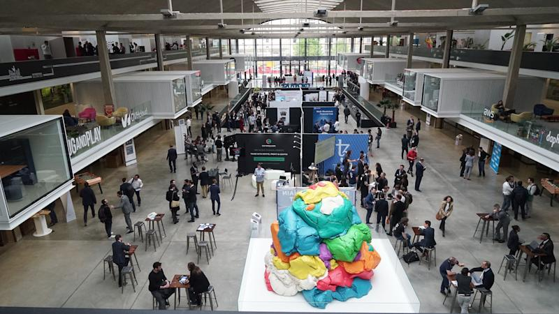 The Paris Blockchain Week summit at Station F. Photo: Paris Blockchain Week Summit