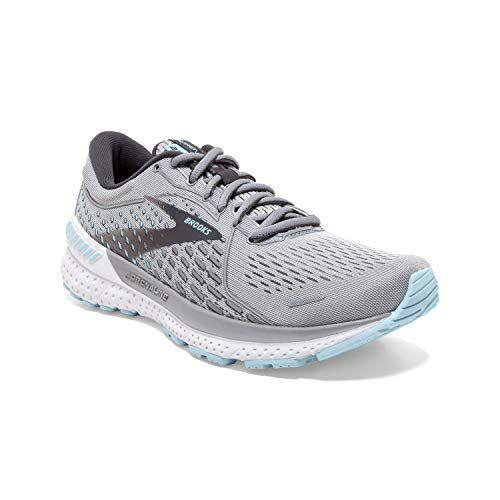 """<p><strong>Brooks</strong></p><p>amazon.com</p><p><strong>$129.95</strong></p><p><a href=""""https://www.amazon.com/dp/B086T6GXKF?tag=syn-yahoo-20&ascsubtag=%5Bartid%7C2140.g.19966106%5Bsrc%7Cyahoo-us"""" rel=""""nofollow noopener"""" target=""""_blank"""" data-ylk=""""slk:Shop Now"""" class=""""link rapid-noclick-resp"""">Shop Now</a></p><p>If you want a shoe that you can log miles <em>and</em> cross-train in, the latest iteration of Brooks' Adrenalines are for you. Their lightweight design allows you to move freely while the DNA LOFT Crash Pad cushions your every step and new GuardRails technology limits excess foot movement that can harm your knees/</p><p><strong>Rave review:</strong> """"These shoes are like wearing supportive clouds on my feet. They actually position my foot and ankle properly so I don't have pain or fatigue.<strong>""""</strong><br>—Jennifer B., <em>amazon.com</em></p>"""