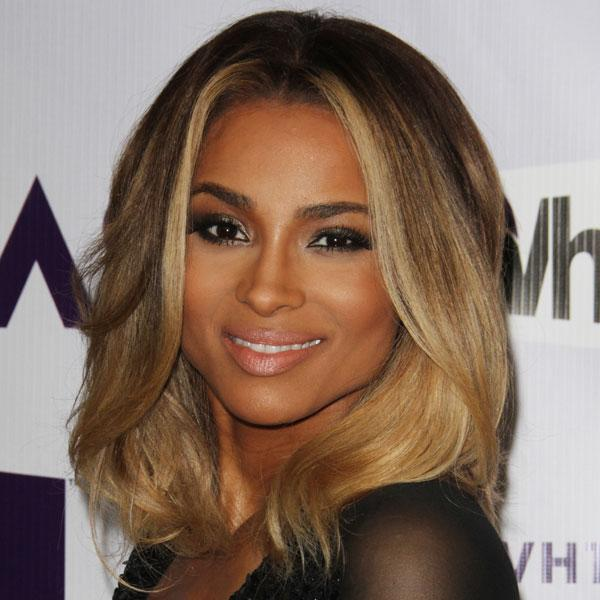 <b>Ciara </b><br><br>The US singer showcased a dip-dye bob at the VH1 Divas event in LA.<br><br>© Rex