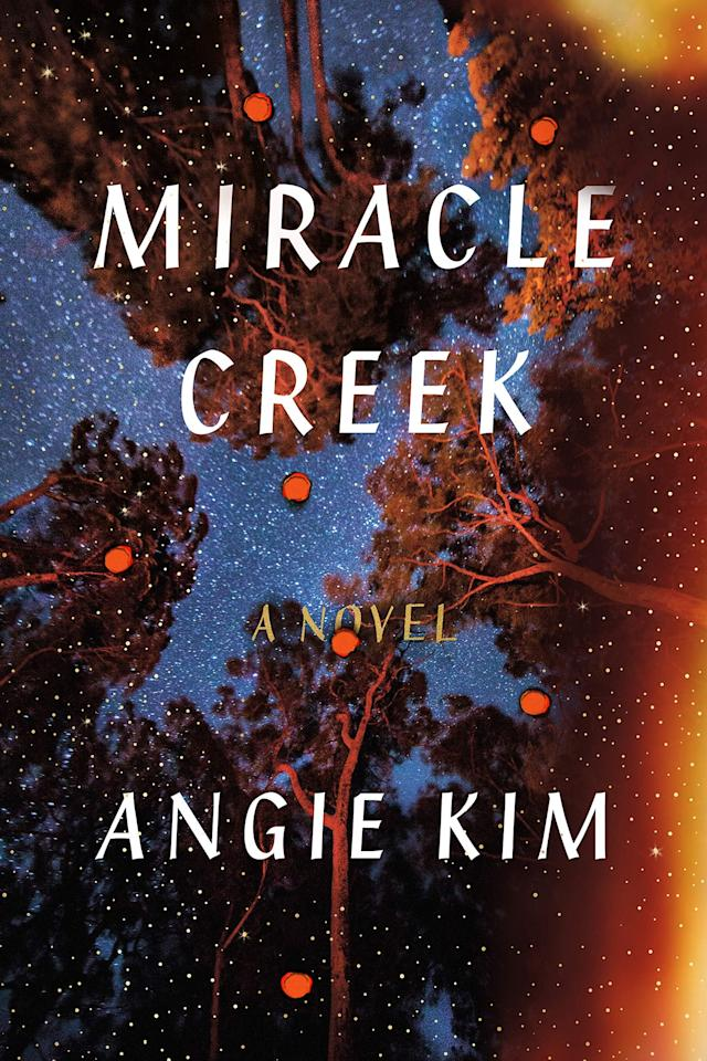 "<p>With a background as a trial lawyer herself, Angie Kim pens this thrilling courtroom drama about a pair of scientists who develop Miracle Submarine, a pressurized oxygen chamber that could potentially cure certain diseases. The machine explodes, killing two people and shaking up the small rural Virginia town in which <a rel=""nofollow"" href=""https://www.popsugar.com/buy?url=https%3A%2F%2Fwww.amazon.com%2FMiracle-Creek-Novel-Angie-Kim%2Fdp%2F0374156026%2F&p_name=%3Cstrong%3EMiracle%20Creek%3C%2Fstrong%3E&retailer=amazon.com&evar1=buzz%3Aus&evar9=45730555&evar98=https%3A%2F%2Fwww.popsugar.com%2Fentertainment%2Fphoto-gallery%2F45730555%2Fimage%2F45730587%2FMiracle-Creek&prop13=api&pdata=1"" rel=""nofollow""><strong>Miracle Creek</strong></a> takes place. </p> <p><strong>Release date</strong>: April 16<br></p>"
