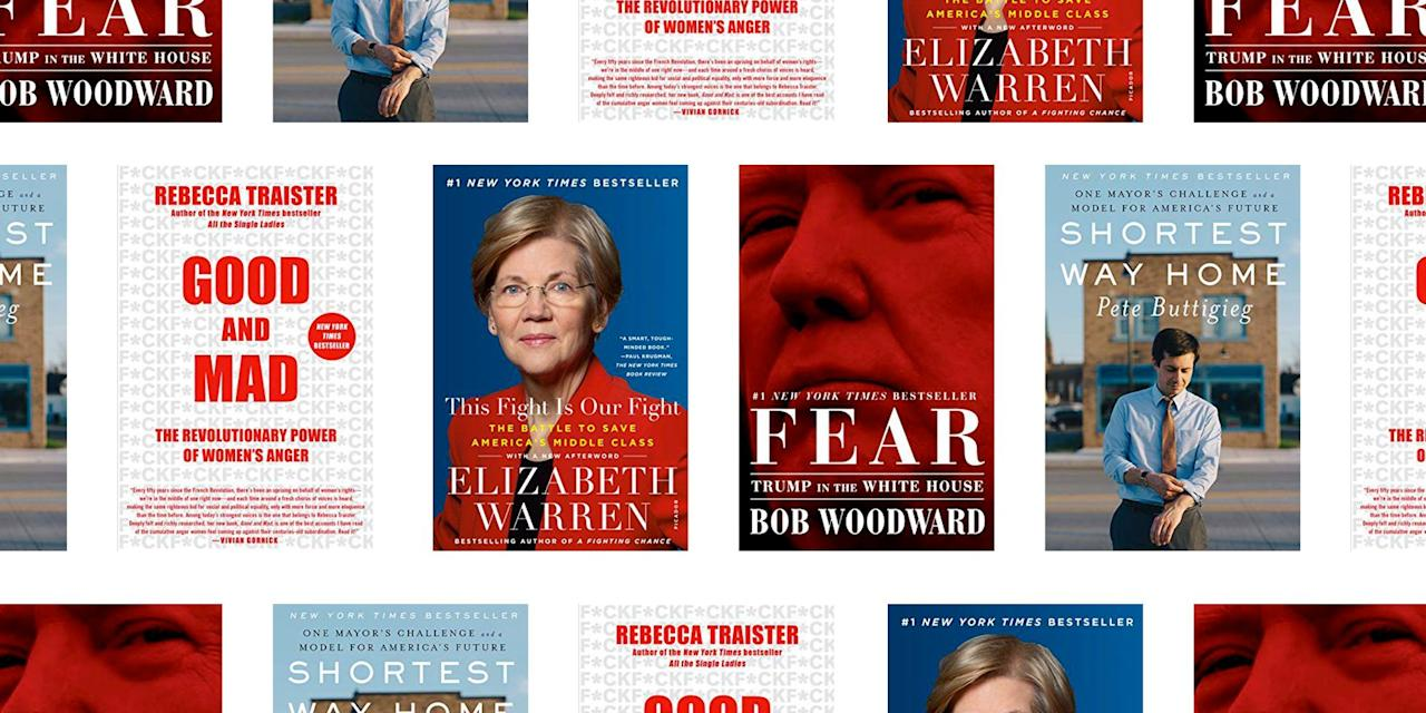 <p>The 2020 election is a little over a year away, with the Democratic presidential debates in full swing and Congressional races soon to heat up. We've rounded up the best 14 books to get keep you informed, from candidate memoirs and insider accounts of the Trump administration, to deep dives on issues like immigration, race, and gender.</p>