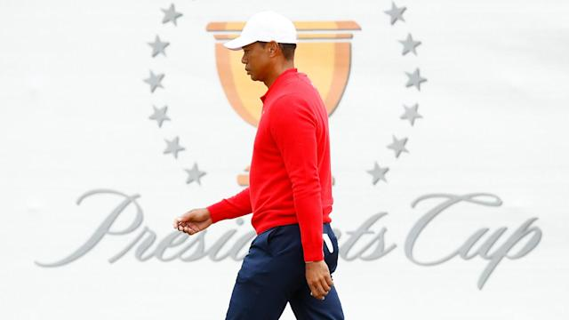 American superstar Tiger Woods has the most wins - 27 - in Presidents Cup history.
