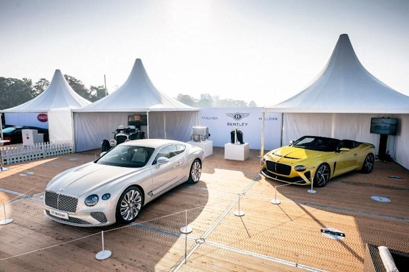 Bentley Mulliner Salon Privee