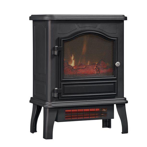 <a href=&quot;https://fave.co/3iYBxbB&quot; target=&quot;_blank&quot; rel=&quot;noopener noreferrer&quot;>This electric space heater that looks like a fireplace</a> has the option to turn the flames on with or without heat. It has a 4.3-star ratings and more than 1,200 reviews. Find it for $100 at <a href=&quot;https://fave.co/3iYBxbB&quot; target=&quot;_blank&quot; rel=&quot;noopener noreferrer&quot;>Walmart</a>.