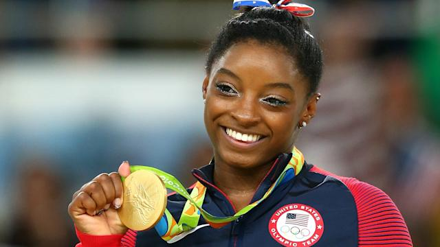 USA Gymnastics says Simone Biles has not broken any drug-testing regulations after she was targeted in a cyber attack.