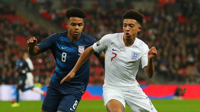 Jadon Sancho is not looking to move to the Premier League in the near future