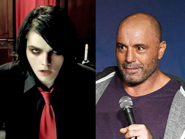 Gerard Way Joe Rogan celebrities who are related Getty Images WMG Reprise records