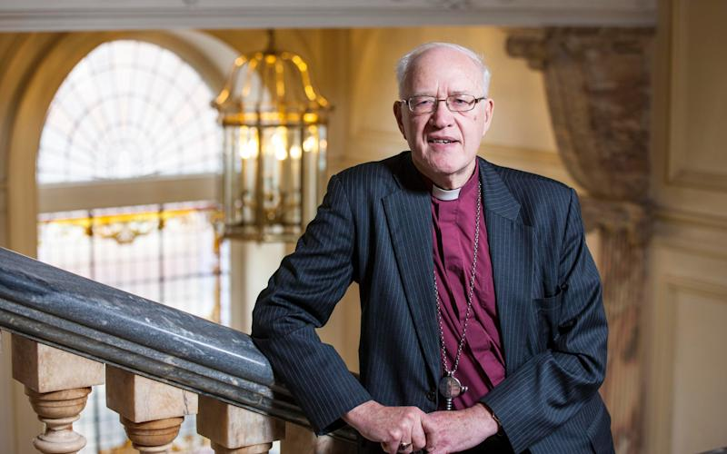 former Archbishop of Canterbury George Carey  - Credit: Andrew Crowley for the Telegraph