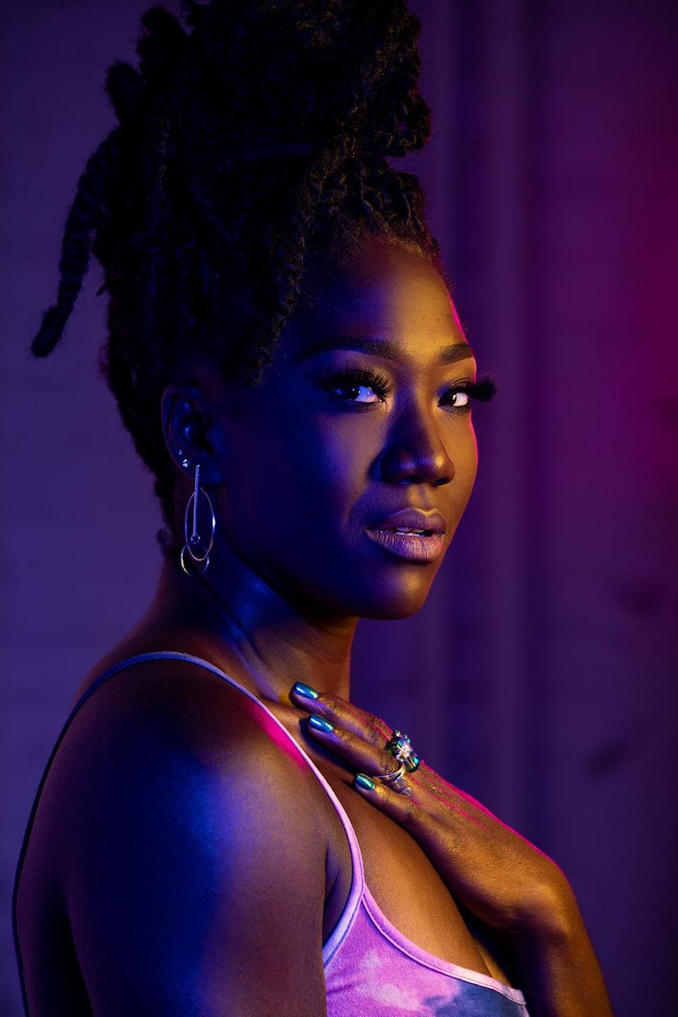 """Amber Iman has performed on Broadway in """"Shuffle Along"""" and """"Soul Doctor."""""""