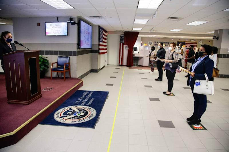 USCIS has had to slow down during the pandemic. Some immigrants will benefit from this