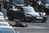 Filming of Hobbs and Shaw will continue in the city until Sunday (Andrew Milligan/PA)
