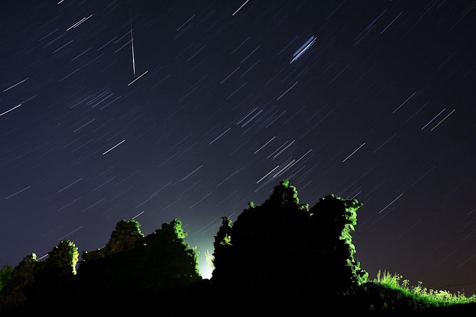 The Perseid meteor shower marks one of the highpoints in the celestial calendar (AFP/Getty Images)