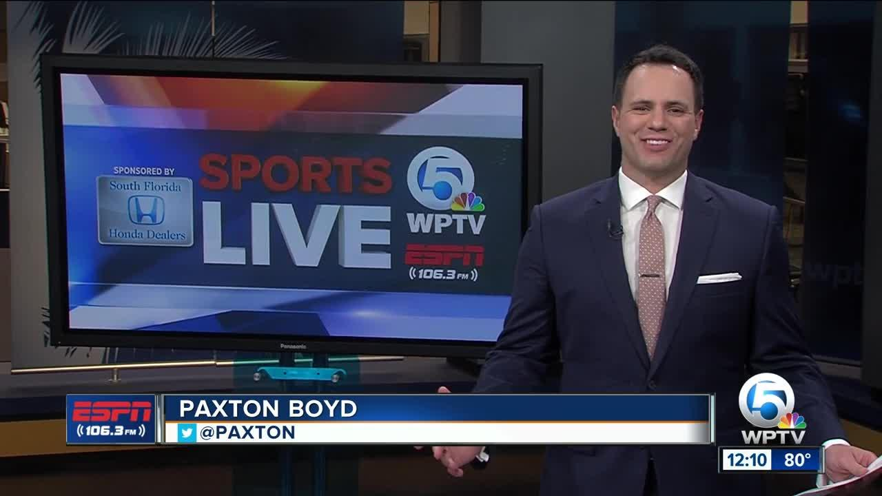Paxton Boyd Honda Five Sports Live sportscast from October 16th, 2017.