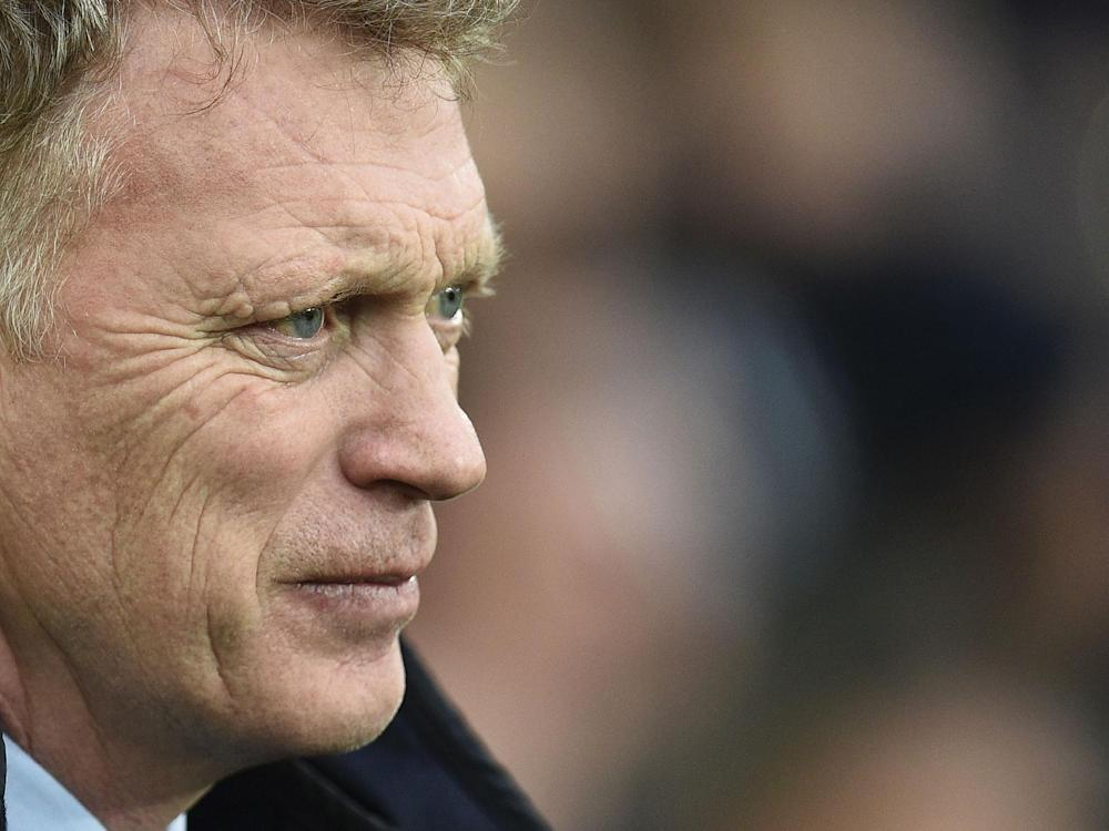 Asked about the week, Moyes said he was surprised by some of the criticism he'd received: Getty