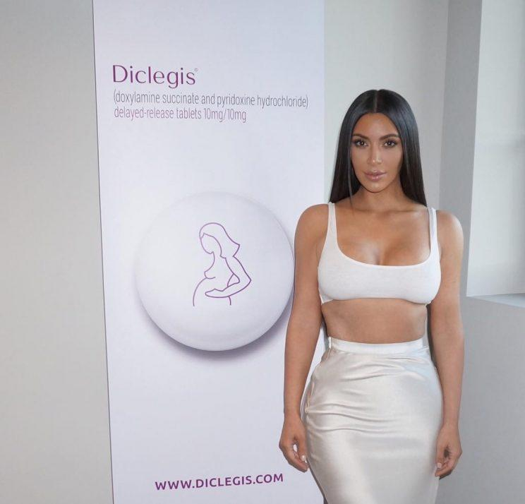 Kim kardashian morning sickness pills