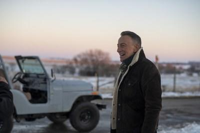 """TheJeep® brand and Bruce Springsteen collaborate to launch """"The Middle"""" Big Game campaign. Photo credit: Rob DeMartin"""