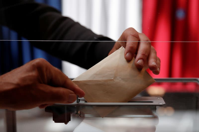 FILE PHOTO: First round of French regional and departmental elections